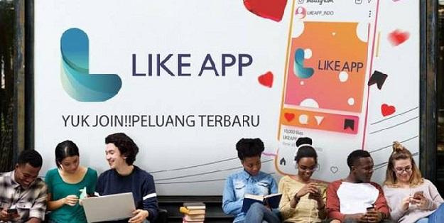 Menghasilkan Uang Dengan Mudah Melalui Aplikasi Like App Di Hp Nexs Tekno