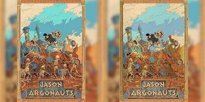 Jason and the Argonauts Screen Print by Kilian Eng x Justin Ishmael