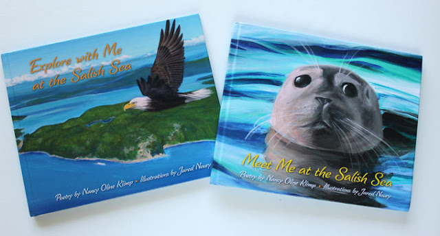 two books eagle and otter on covers