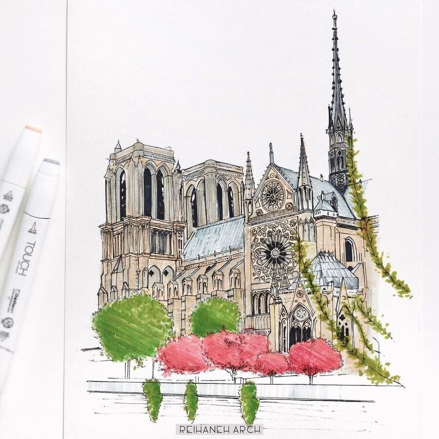 08-Cathédrale-Notre-Dame-de-Paris-Reihané-www-designstack-co