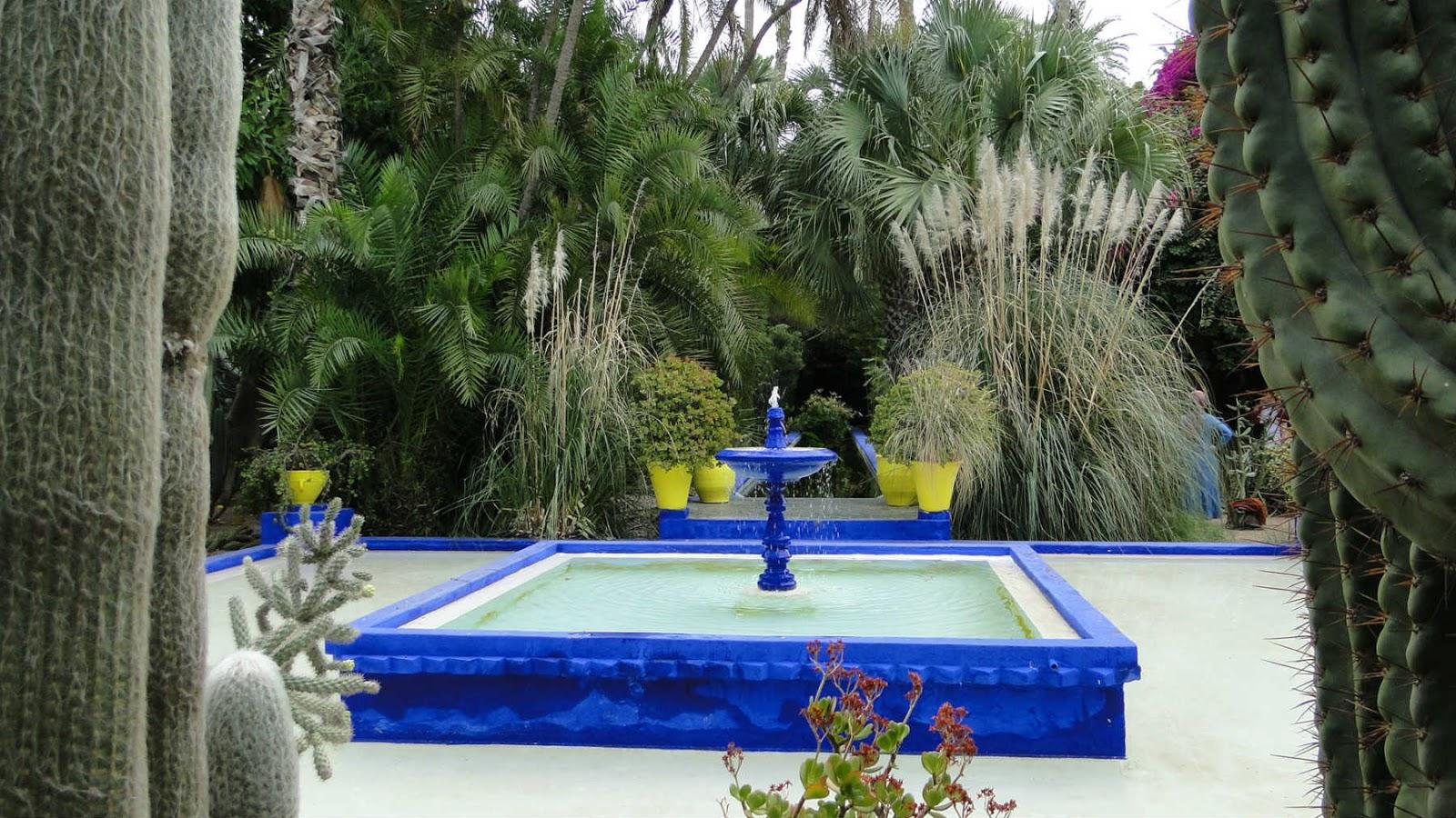 Jardim Majorelle, Marrakech, Marrocos.