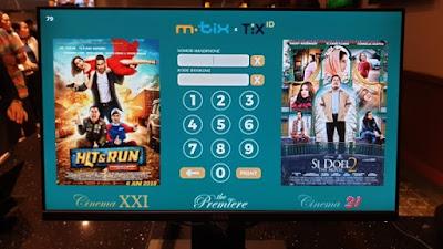 Cara Memesan TIX ID Buy 1 Get 1, Film Promo 50%