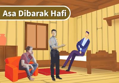 "Asa di Barak Hafi - Cerita Fiksi Inspiratif ""Hasrat Meraih Mimpi"" #3"