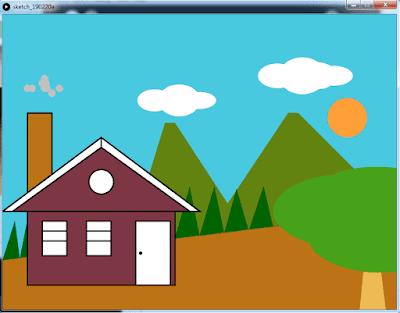 Membuat Animasi Sederhana Menggunakan Processing