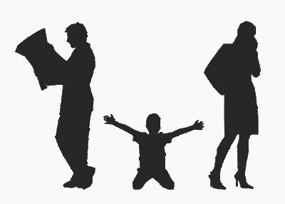 Como ayudar a su hijo a superar la separación de sus padres