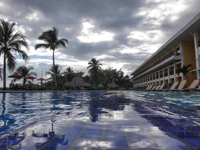 Piscina del Hotel Playa Tortuga en Bocas del Toro