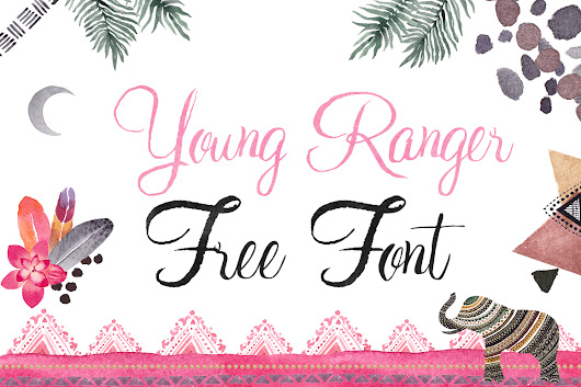 Young Ranger Free Font