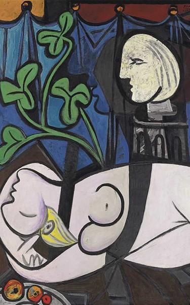 "Pablo Picasso - ""Nu, folhas verdes e busto"