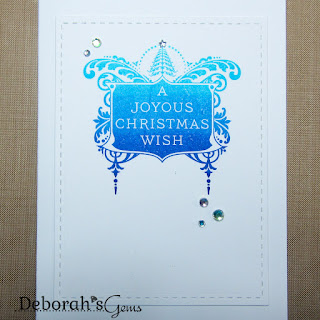 Joyous Christmas Wish sq - photo by Deborah Frings - Deborah's Gems