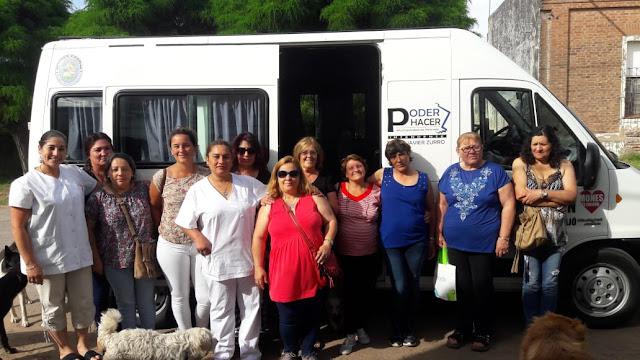 Mones Cazón participó de las jornadas de prevención de patologías de mamas