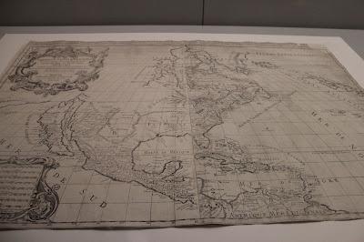 Mapa de América del s. XVII