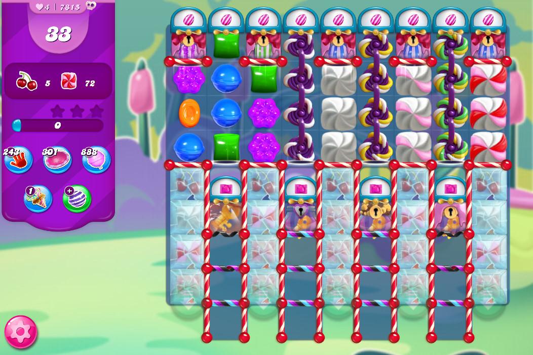 Candy Crush Saga level 7815