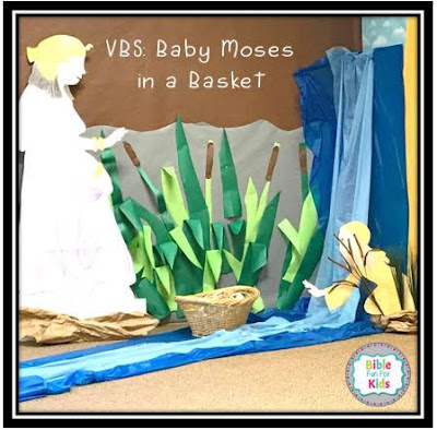 VBS With Haley: Baby Moses in a Basket