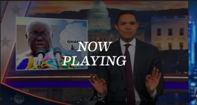 Watch what Trevor Noah had to say about Nana Addo's inauguration speech on The Daily Show