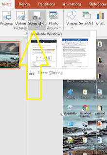 PowerPoint Application having Screen Recording Features How