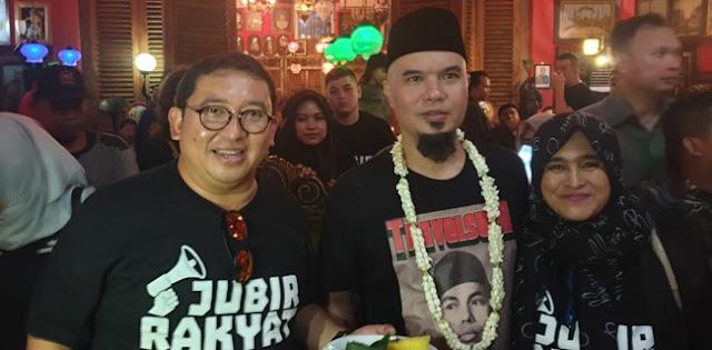 Tetap Dukung Prabowo, PA 212: Ahmad Dhani Kader Militan Dan Mujahid Istiqomah
