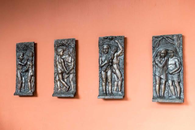 As quatro estações, esculturas de João Turin