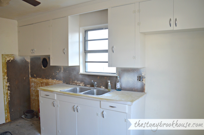 White Apartment Kitchen