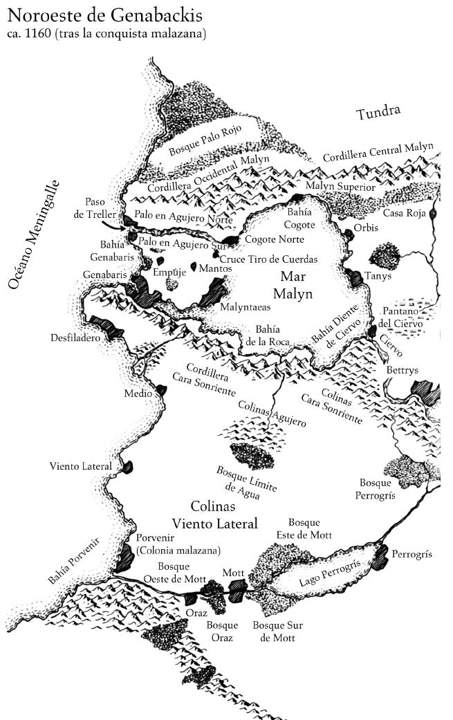 Noroeste Genabackis A - Casa de Cadenas