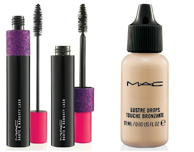 MAC Baking Beauties HAUTE & NAUGHTY LASH Mascara - LUSTRE DROPS Pink Rebel