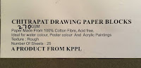 Info about rough textured Chitrapat handmade paper