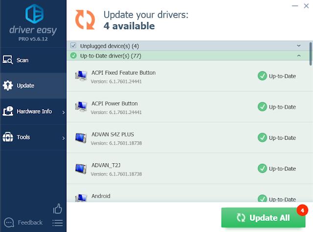 Screenshot DriverEasy Pro 5.6.12.37077 Full Version