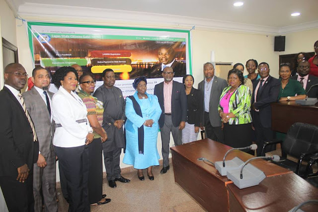 Citizens Relations Management (CRM) website