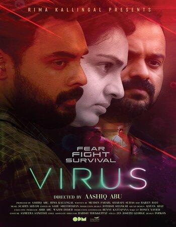 Virus (2019) Malayalam 720p HDRip x264 1.2GB ESubs Movie Download