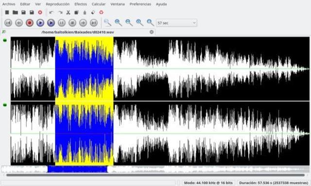 برمجيات تحرير الصوت