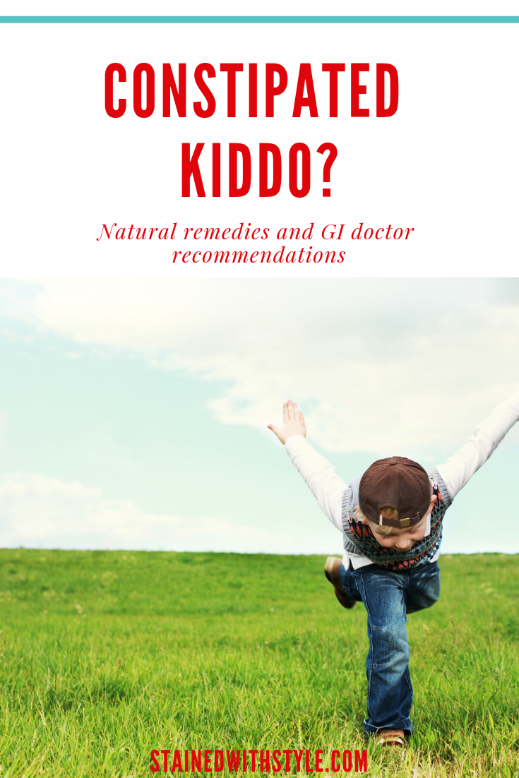 Is your child constipated? What works   naturally | Stained