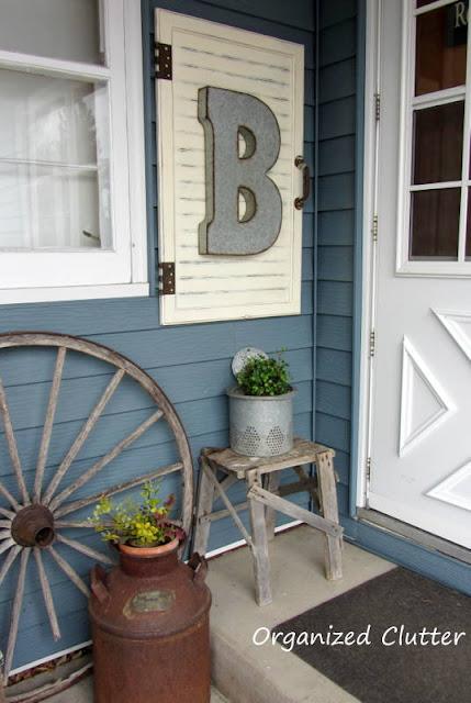 Cabinet Door Outdoor Decor