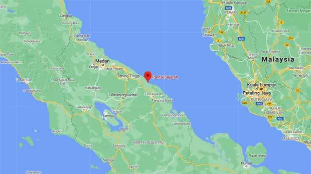 pantai sejarah kabupaten batu bara sumatera utara