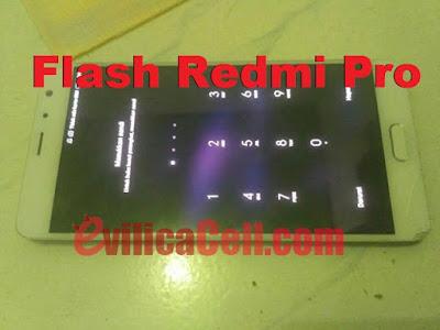 Redmi Pro Omega Terkunci