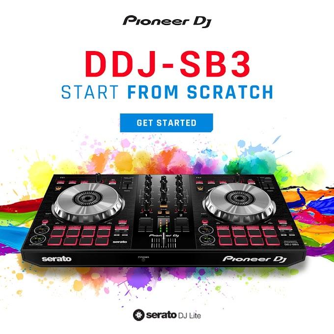 Sorteio Controladora Pioneer DDJ-SB3