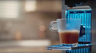 Nespresso Delonghi coffee filmmaking video zeiss arri black magic blue kitchen espresso starbucks