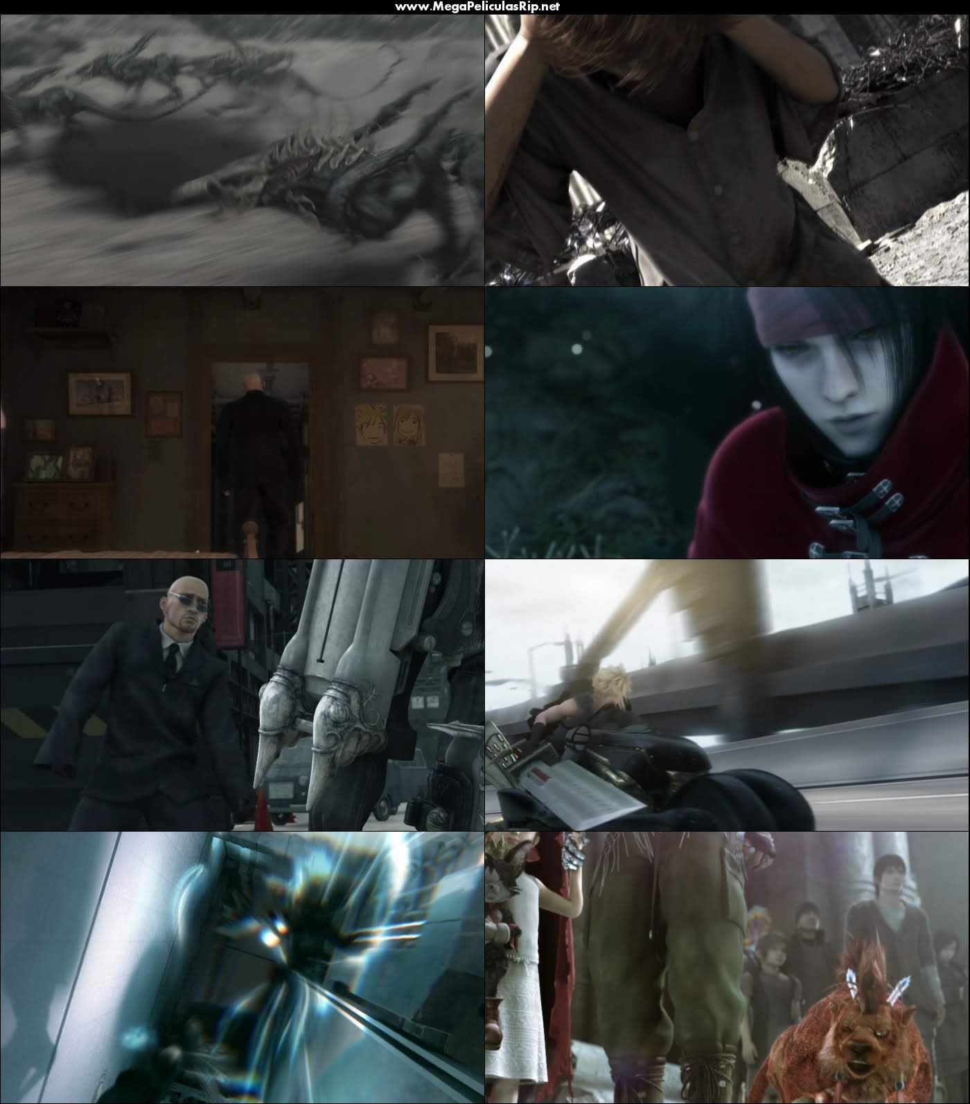 Final Fantasy VII Advent Children 1080p Latino