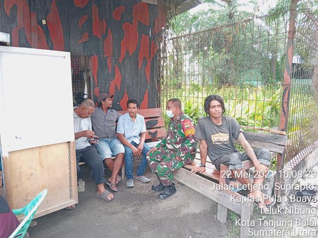 Lestarikan Lingkungan, Personil Jajaran Kodim 0208/Asahan Laksanakan Komsos Kebersihan Dengan Warga Binaan