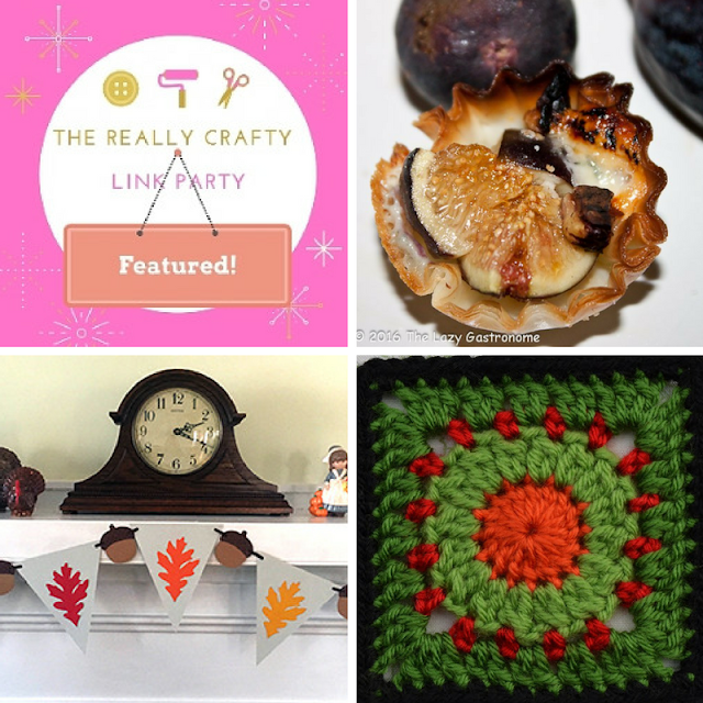 The Really Crafty Link Party #41 featured posts!