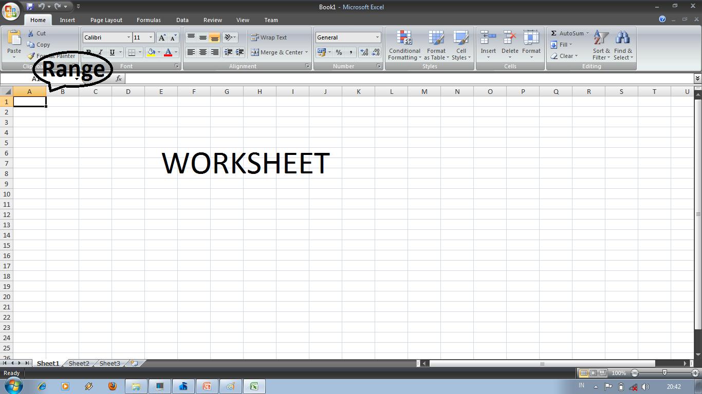 Worksheet Dalam Microsoft Excel Adalah