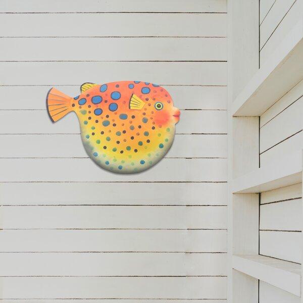 Porcupine Fish Metal Wall Decor