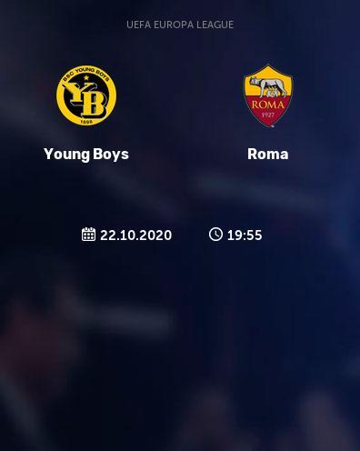 بث مباشر مباراة روما ويونج بويز