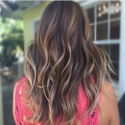 6 Hot Partial Highlights Ideas for Brunettes 2 - Partial Highlights For Brown Hair
