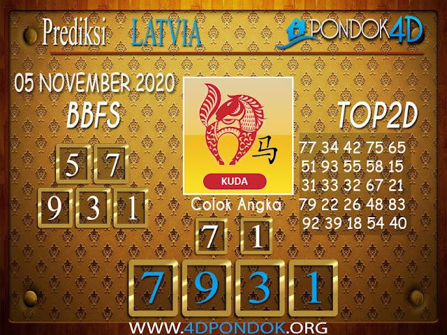 Prediksi Togel LATVIA PONDOK4D 06 NOVEMBER 2020