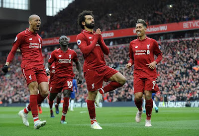 Liverpool Vs Chelsea: Mane, Salah Score As Reds Defeat The Blues 2-0