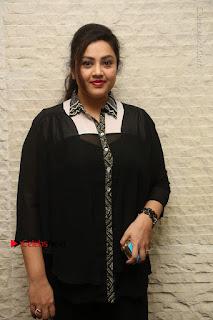 Tamil Actress Meena Latest Stills in Black Dress at TSR TV9 Awards Press Meet  0024.JPG