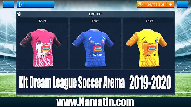 Kit Dream League Soccer Arema