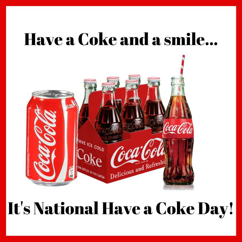 National Have a Coke Day Wishes Photos