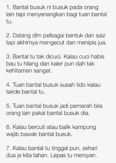 Info Bantal Busuk