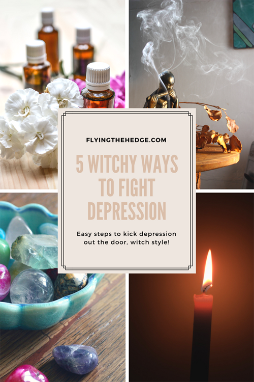 5 Witchy Ways to Fight Depression