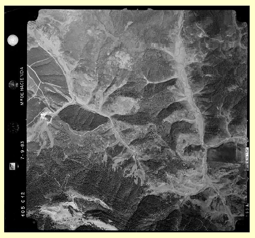 Cartografía Digital: Fotogramas de vuelos, nueva descarga CNIG.